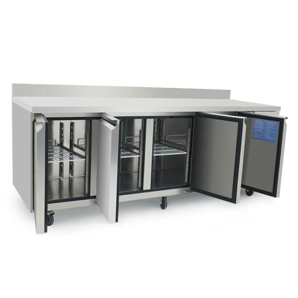 intérieur table réfrigeree atosa 4 portes
