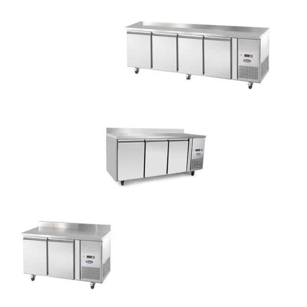 tables négatives réfrigérées