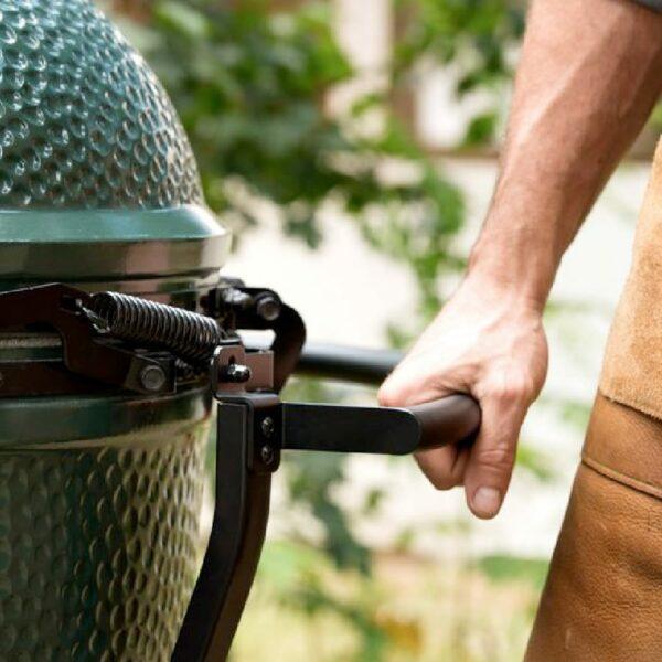 chariot des barbecues big green egg