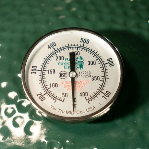 thermomètre des barbecues kamado big green egg