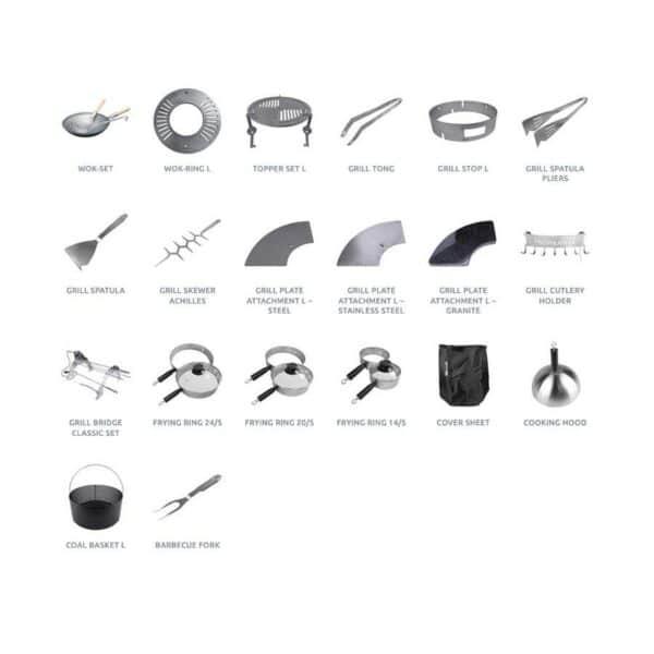 accessoires du fabricant de braseros remundi