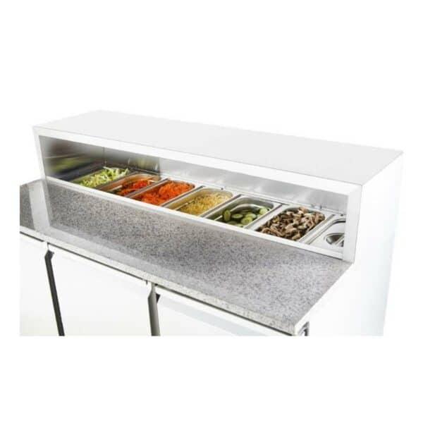 bac gastro table réfrigérée