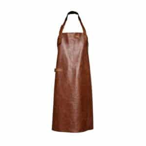 tablier professionnel cuir cognac xapron