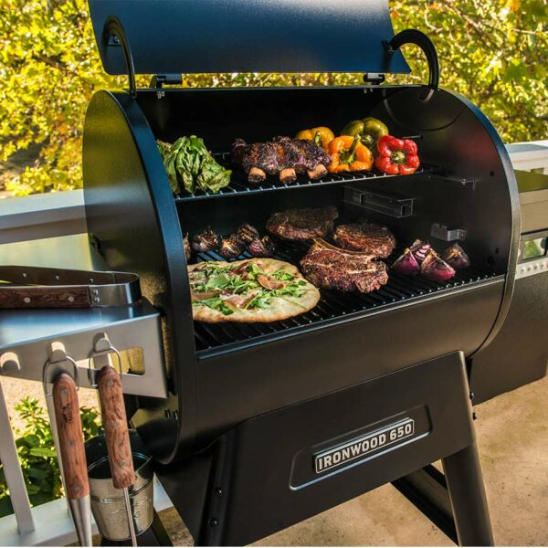 barbecue américain traeger