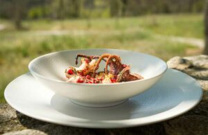 recette poulpe barbecue ceramique
