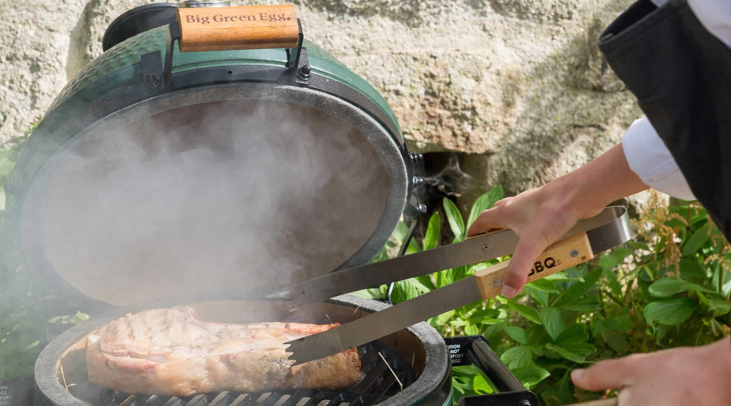 viande fumée au barbecue