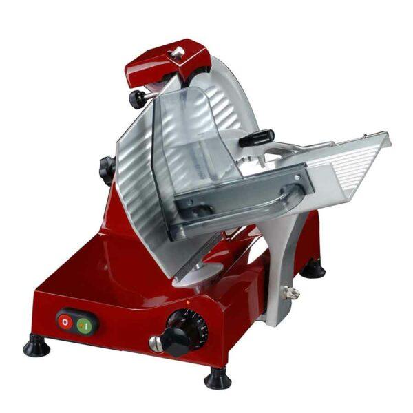 Trancheuse électrique Wismer rouge 250mm