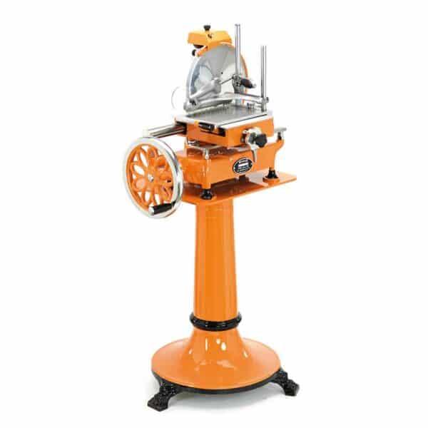 trancheuse a jambon manuelle personnalisée orange wismer