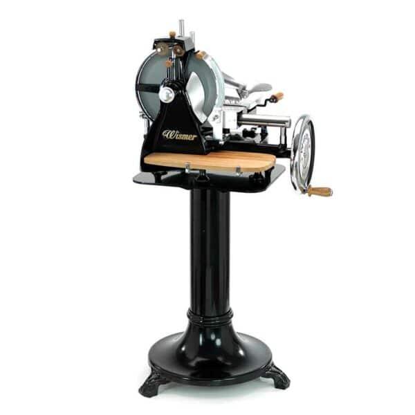 trancheuse manuelle italienne wismer noir avec option bois